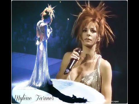 Pod dachami Paryża – Mylene Farmer – Rever – wersja koncertowa