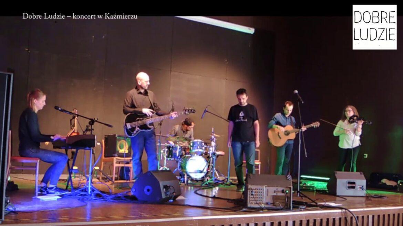 Koncert Dobre Ludzie w Kaźmierzu