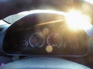 Wymiana żarówek w zegarach HONDA CR-V II 2002r