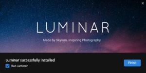 Luminar 2018 Jupiter 1.2.0 aktualizacja