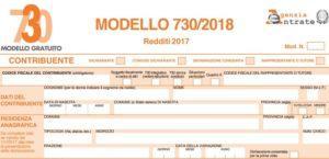 modello 730 2018 istruzioni - Włochy podatek dochodowy