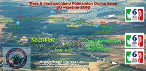 6 Hochland Półmaraton Doliną Samy, Pyrlandzką Dychę oraz Nordic Walking KAŹMIERZ