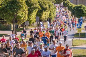 6 Hochland Półmaraton Pyrlandzka Dycha 2018 Stowarzyszenie Kaźmierz