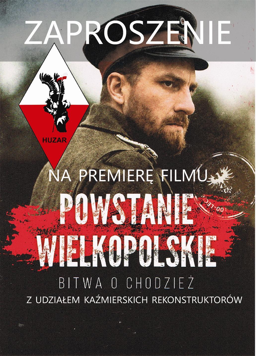 Powstanie Wielkopolskie. Bitwa o Chodzież – premiera filmu w kinie w Kaźmierzu