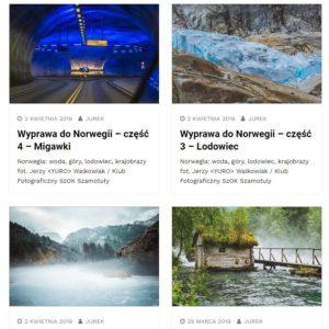 Wyprawa do Norwegii – 4 części – Migawki / Jerzy Walkowiak - Klub fotograficzny Szamotuły