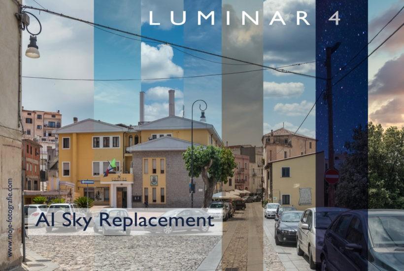 Zmiana nieba na zdjęciu – Luminar 4 AI Sky Replacement