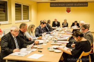 Rada Gminy Kaźmierz - informacje z sesji rady i komisji rady gminy
