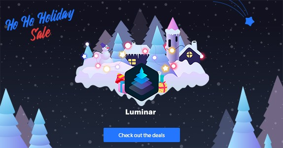 Luminar 4 Holiday Sale