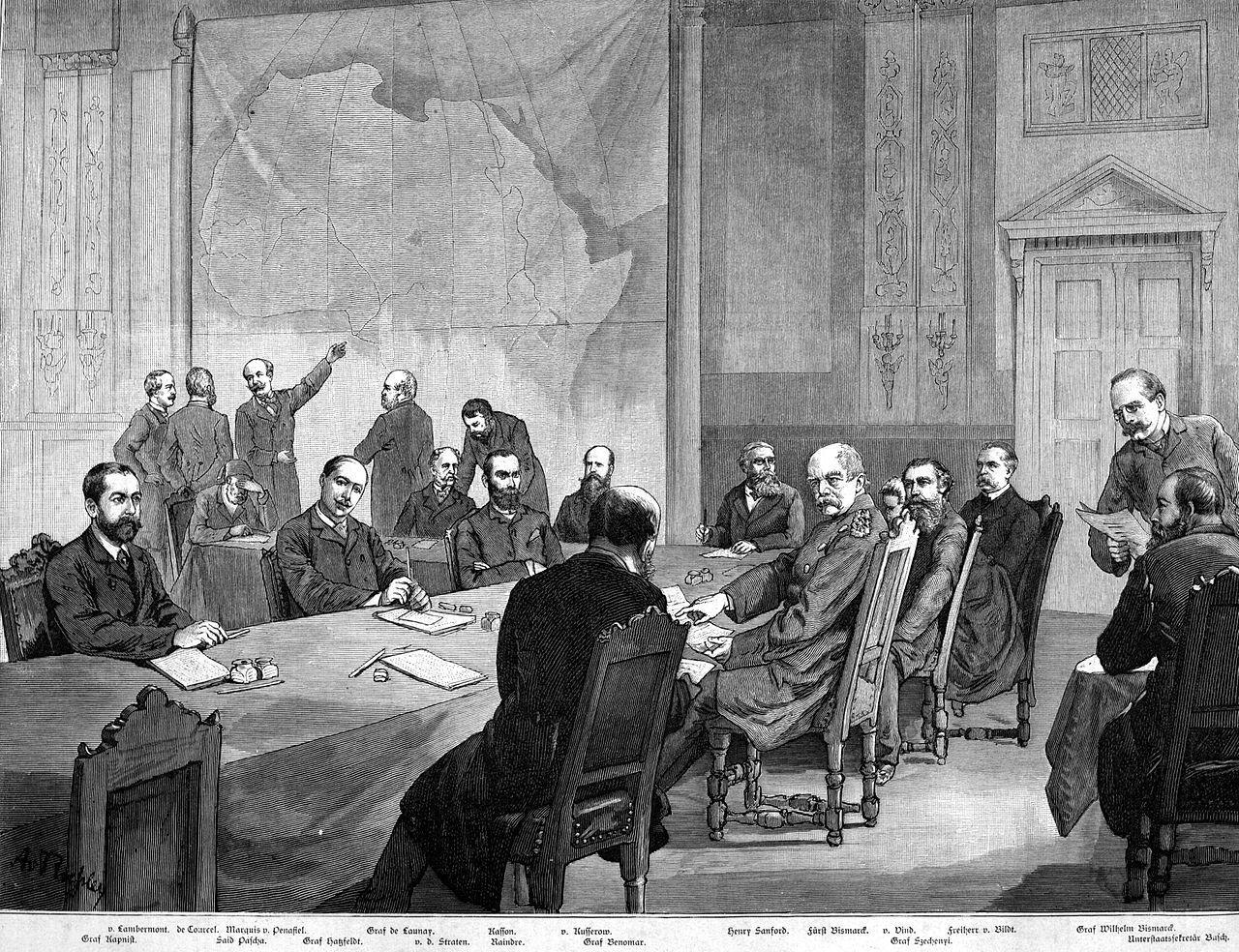 Podział Afryki – konferencja berlińska 1884-1885