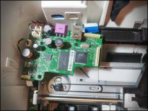 HP Deskjet 1515 moduł sterujący