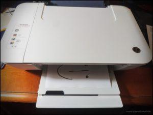 Resolving a Paper Jam for HP Deskjet 1515 and Deskjet Ink
