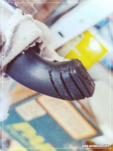 Naprawa rączki od kawiarki Bialetti.