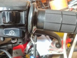 Grzane manetki - sam naprawiam. Honda s-wing FES 125 ccm.