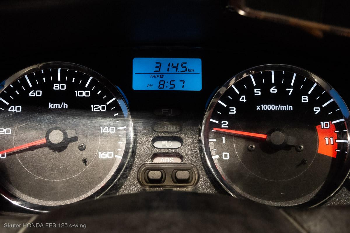 Honda s-wing 125 – spalanie, zasięg