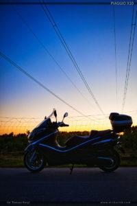 Skuter Piaggio X10 350 zdjęcia