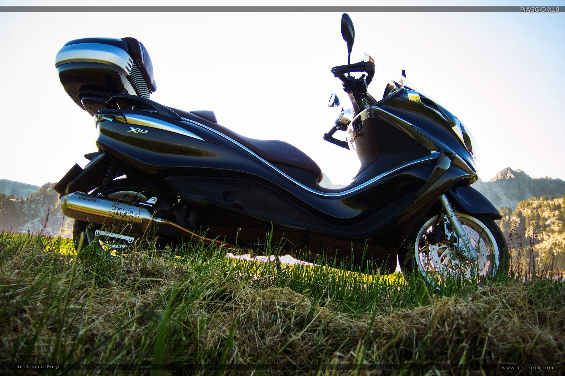 Scooter piaggio x10 350 motorcycle photos, wallpapers, review by mckornik.com