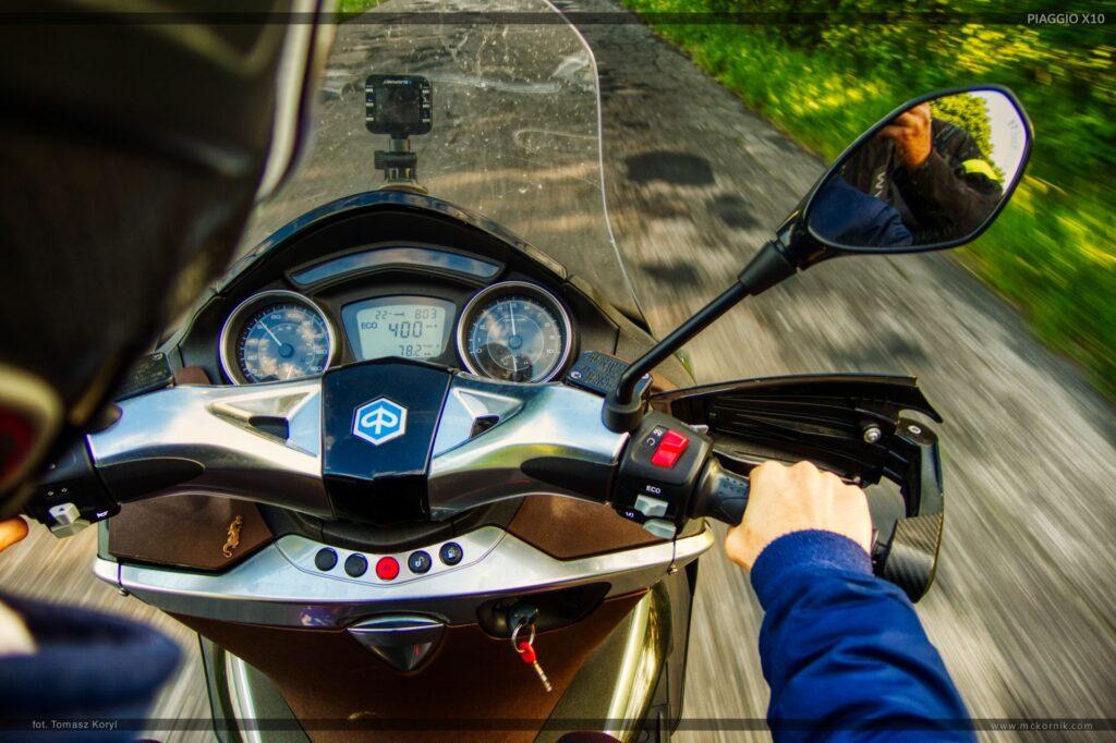 Scooter piaggio x10 350 on the road -  #piaggio #piaggioX10, #scootertouring #scooter #scootertravel #maxiscooter