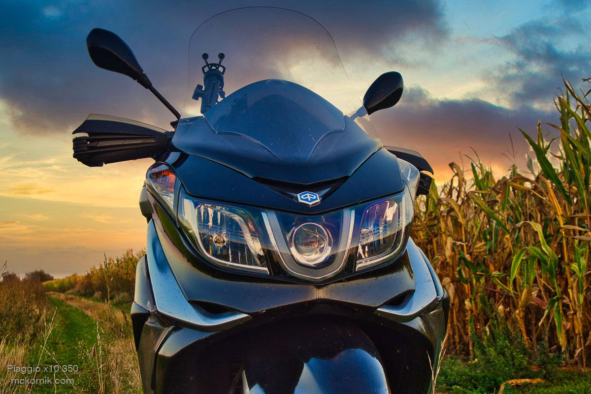 Maxi skuter #Piaggiox10 zdjęcia