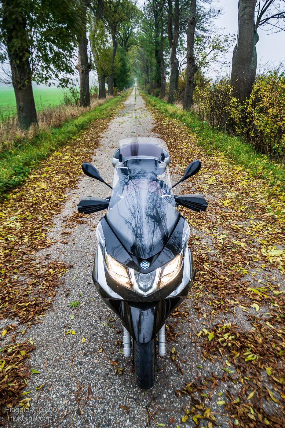 #Calimoto, #Calimotour,  jazda skuterem Piaggio x10, #piaggiox10 - fot.