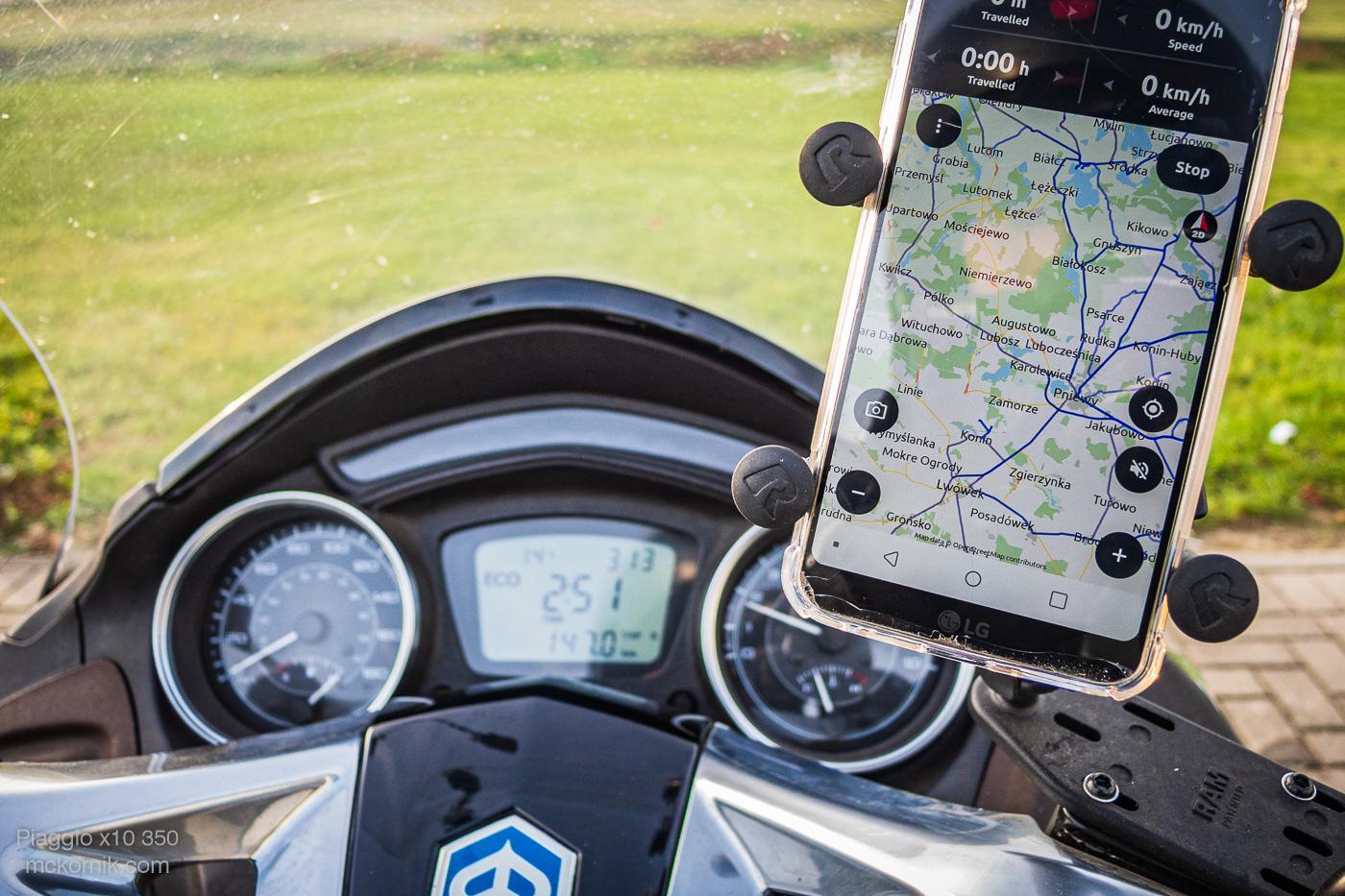 Aplikacja nawigacja dla motocyklistów CALIMOTO #calimotour