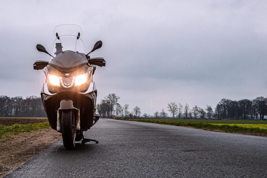 Styczniowa trasa motocyklowa