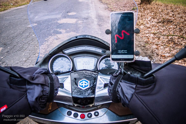 GIVI TM421 mufki motocyklowe i zimowa jazda