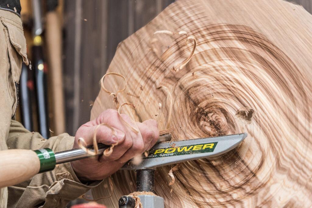Kurs toczenia w drewnie - rękodzieło, hobby, wyroby z drewna: talerze, miski, wazony