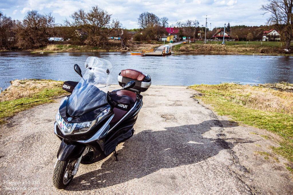 Wiosenna trasa motocyklowa