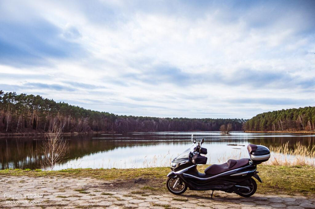 Wiosenna trasa motocyklowa - Sieraków, Wielkopolska