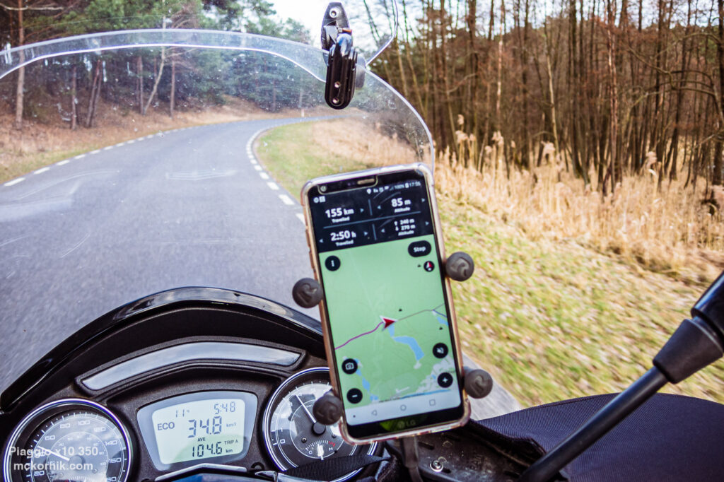 Wiosenna trasa motocyklowa - Chojno, Wielkopolska