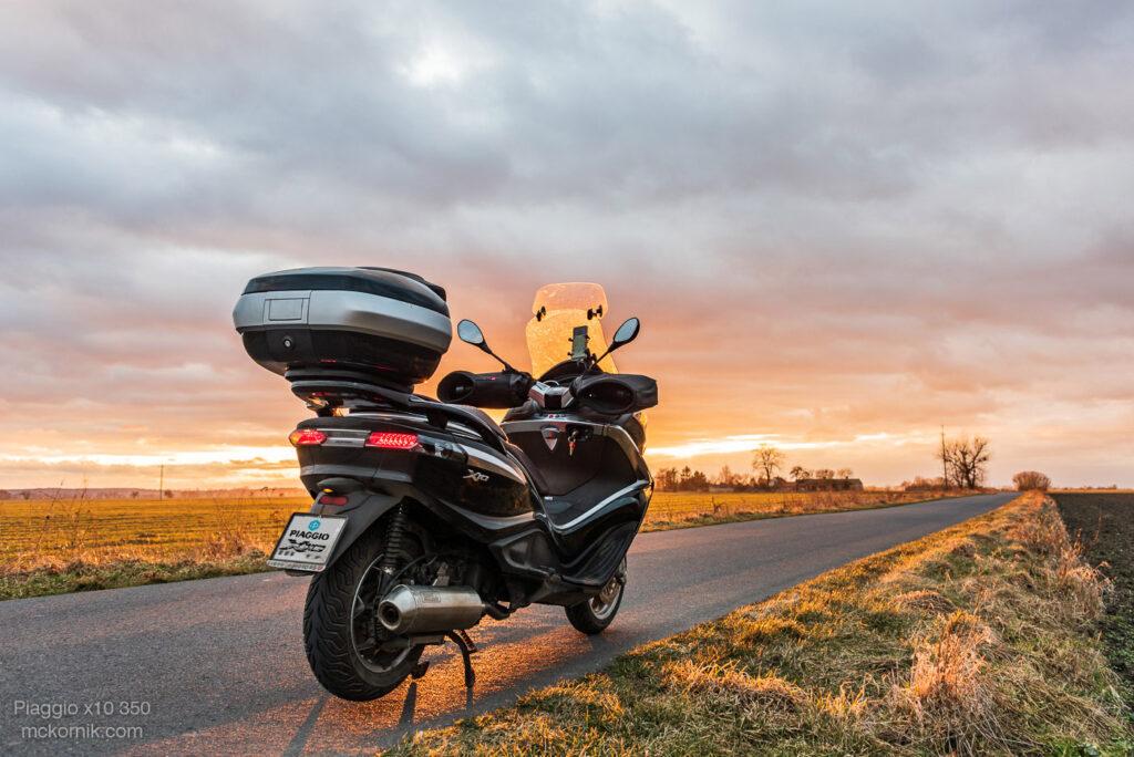 Trasa motocyklowa Marzec 2021