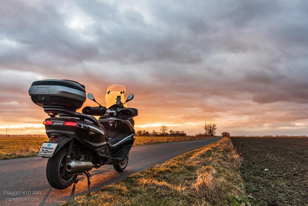 skuter #piaggiox10350 #calimotour fot. Tomasz Koryl