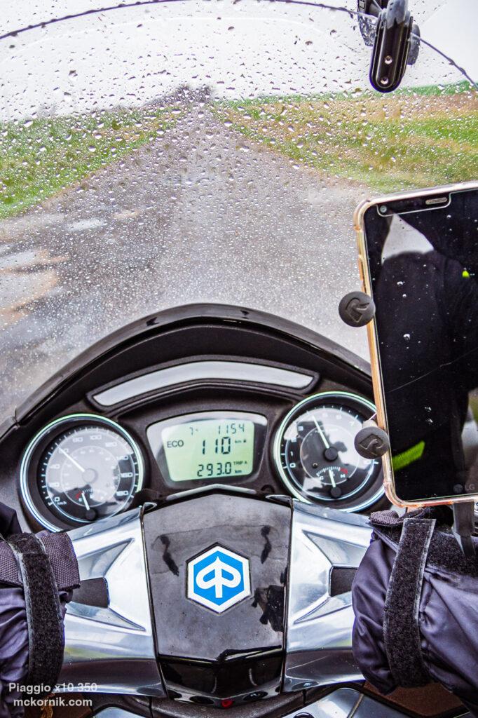 Lany Poniedziałek - kwietniowa trasa motocyklowa #calimotour #piaggio10,  fot. Tomasz Koryl