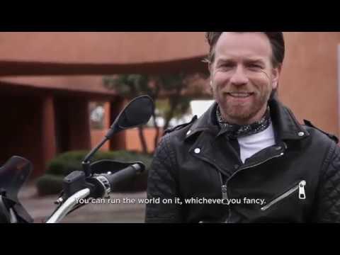 Moto Guzzi V85TT Rocks'n'Roads backstage Ewan McGregor