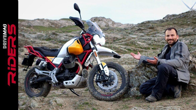 Test Moto Guzzi V85 TT na kanale DriveMag Riders