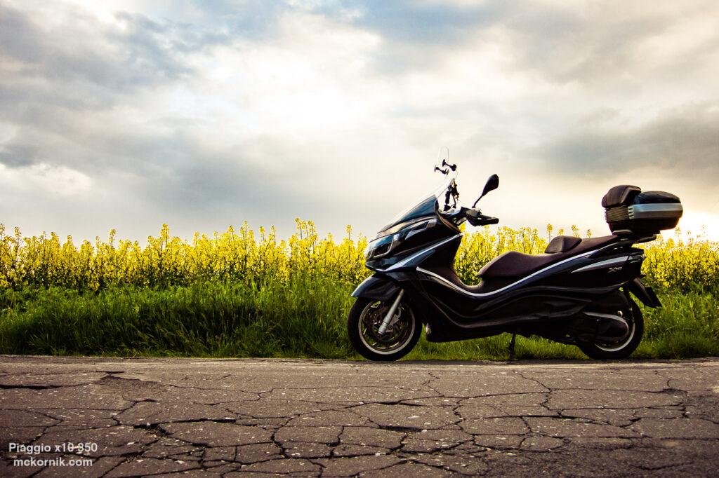 Piaggio x10 350 wiosenne zdjęcia