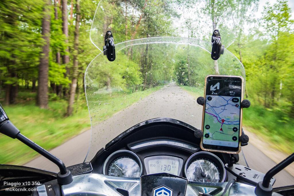 Wiosenna, deszczowa trasa motocyklowa dookoła Polski