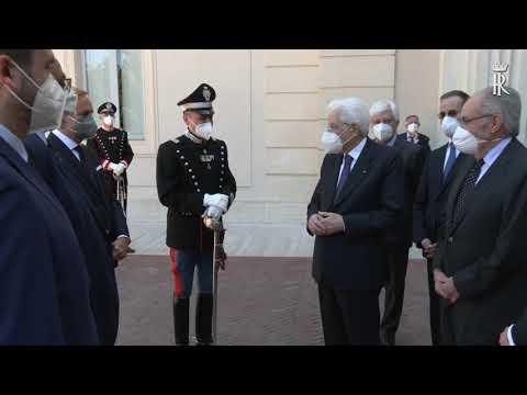Prezentacja Moto Guzzi V85TT dla Prezydenta Włoch