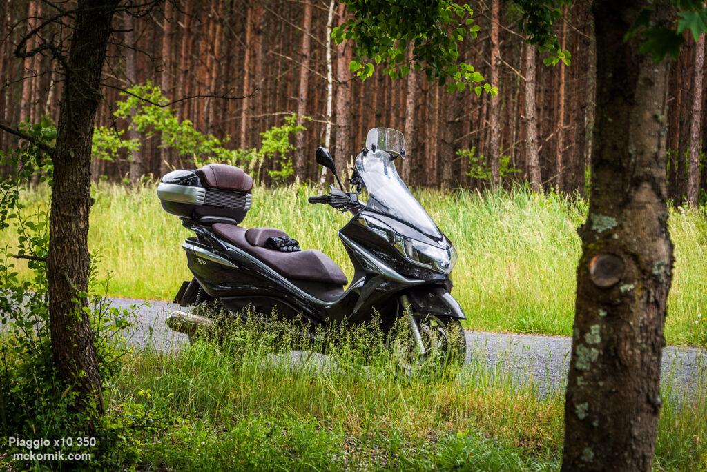 Wielkopolska na Motocyklu - Skuter Piaggio x10 #piaggiox10 #calimotour