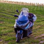 Maxi scooter Piaggio x10 350 Piaggio x10 do winnicy i z powrotem.