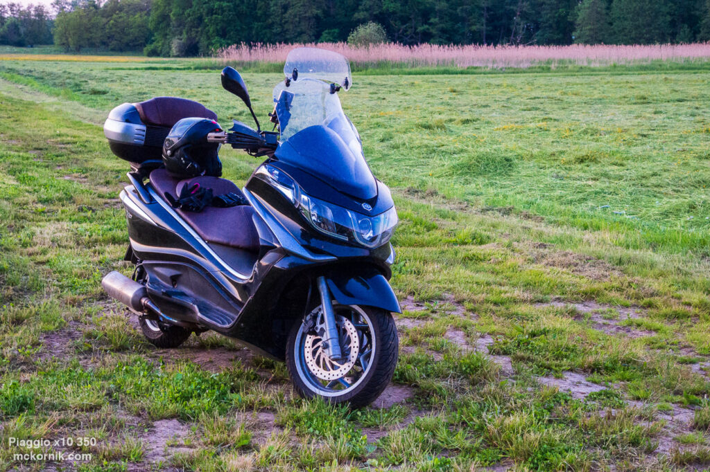 Maxi scooter Piaggio x10 350, #piaggio10, #piaggiox10350, fot. Tomasz Koryl