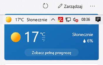 Microsoft Windows 10 Pasek zadań Pogoda wiadomości - jak usunąć