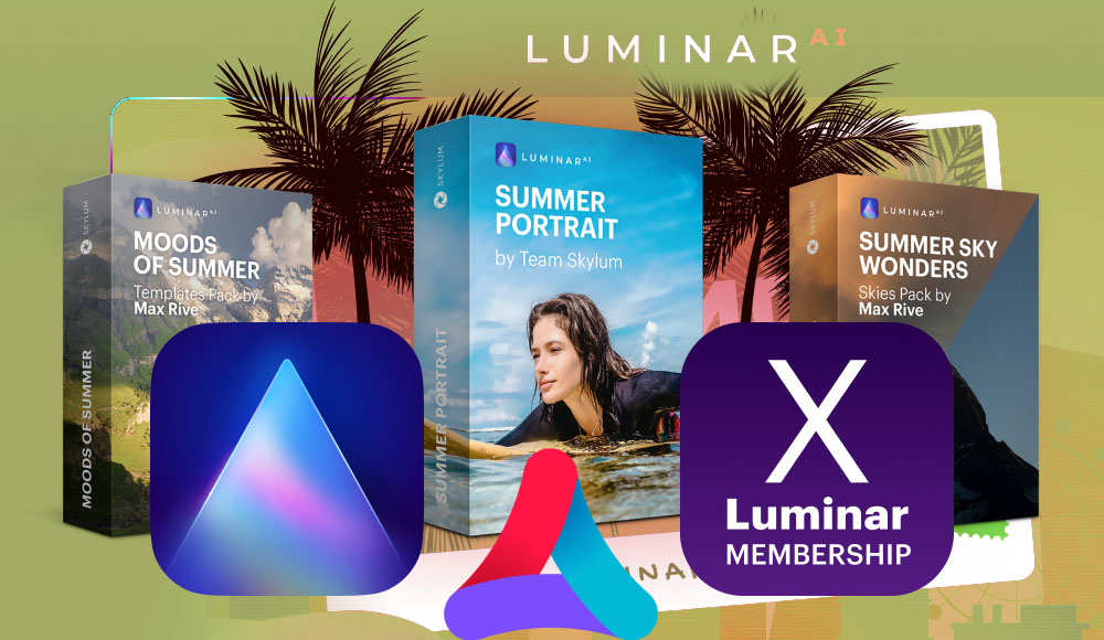 Letnia oferta Luminar AI Aurora HDR 50% taniej