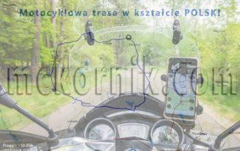 Trasa motocyklowa w kształcie Polski