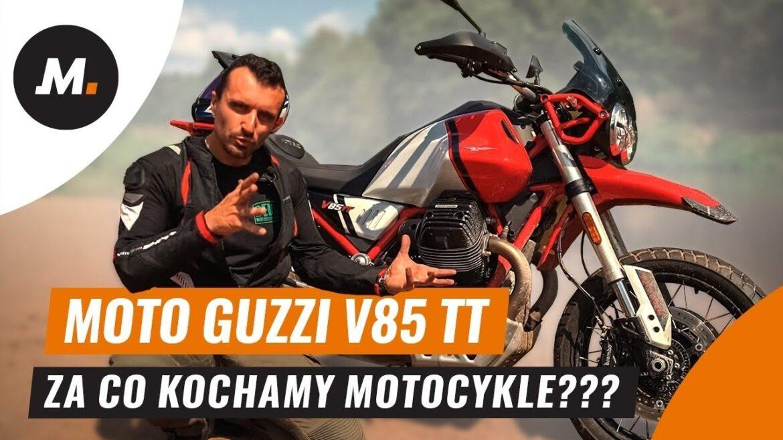 Test, recenzja Moto Guzzi V85 TT na kanale Motogen.pl