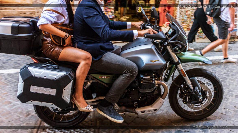 Moto Guzzi V85 TT Centenario 850 – Roma