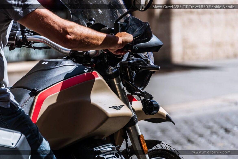 Moto Guzzi V85 TT Travel 850 Sabbia Namib – Roma, Italy