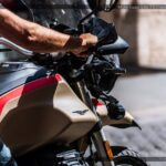Moto Guzzi V85 TT Travel 850 Sabbia Namib - Roma, Italy